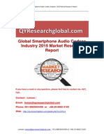 Global Smartphone Audio Codecs Industry 2015 Market Research Report