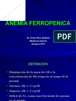 CLASE 7 - Anemia Ferrop - Enf Cronica Oct  2011.ppt