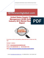 United States Supply Chain Management (SCM) Software Industry 2015 Market Research Report