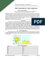 An Enhanced RMPA Bandwidth for C-Band Applications