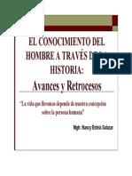Conocimiento Del Hombre a Traves de La Historia- Avances y Retrocesos 2