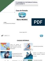 Caso de Estudio Alpina Venezuela - Matríz MICMAC