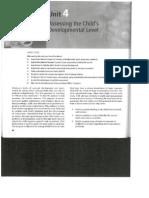 unit 4 assessing the child 27s developmental level