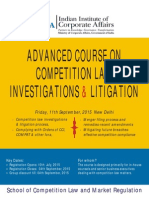Competition Investigations 2015