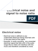 Electrical noise and signal to noise ratio.pptx
