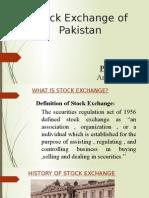 paksitan stock exchange