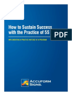 4-47686 How to Sustain Success 5S