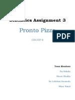 Pronto Pizza problem submission