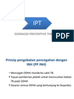 isoniazid preventive therapy