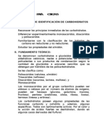 Reacciones de IdentificaciÓn de Carbohidratos i. Objetivos: