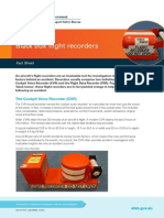 Black Box Flight Recorders Fact Sheet