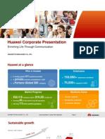 HUAWEI Corporate Presentation 20121127 FINAL