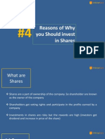 4 Reasons of Why You Should Invest in Shares & Equities