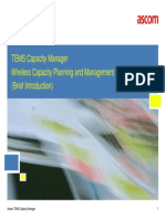 TEMS Capacity Manager Solution Introduction 2015_RoystonWee
