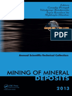 Mining of mineral deposits