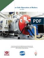 BG01 V1 Guidance on Safe Operation of Boilers - October2011