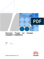 [ST] UGW9811 V900R010C00 ST v1.5