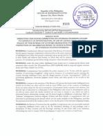 HR 2315 (Customs Opening Balikbayan Boxes)