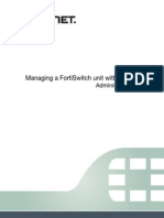 Managing a FortiSwitch Unit With a FortiGate