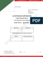 Panel AU Optronics M150XN07 V1 0 [DS]
