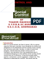 Social Control and Customs Ppt