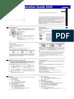 Casio GW-A1000 Manual