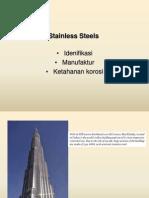 Metalurgi Baja Tahan Karat