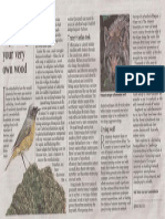The Times. Nature Notebook Aug 15