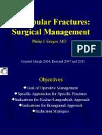 Acetabular Fractures Surgical Management Kregor 2011