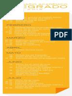 Calendario Academico 2015 2 UPN