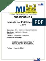 Preinforme#2(PLC micrologix)