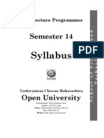 March Syllabus Sem 14
