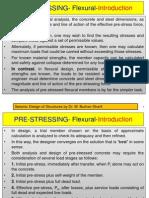 Prestressing-Flexural