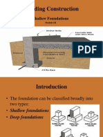 1 Shallow Foundations