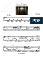 Room of Angel - Akira Yamaoka, Piano Sheet