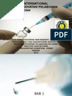 Vaksinasi Internasional New