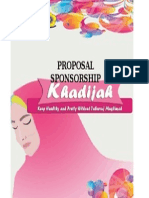 Cover Sponsorship Proposal