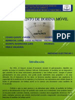 PPT Instrumento de Bobina Movil