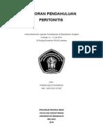 COVER LP Peritonitis