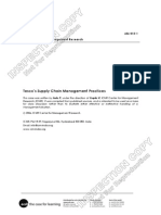 Case 3 Tesco Supply Management