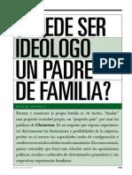Puede Ser Ideólogo Un Padre de Familia - Héctor Ghiretti