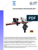 Escaner 3D de Luz Blanca Estructurada DL2