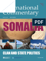 Clan and State Politics in Somalia