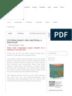 [Tutorial] Basic Vray Material 4 SketchUP _ Hallomars
