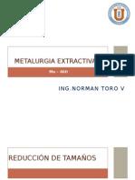 Reducción de Tamaño de minerales