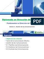URP Sesion 8 - Gestion de Comunicaciones