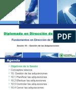 URP Sesion 10 - Gestion de Adquisiciones