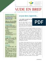 Bulletin PEPS Aude en Bref 4éme Trimestre 2014