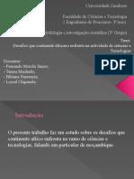 Slide Ciencias e Tecnologias Em Mocambique