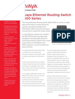 Avaya Ethernet Routing Switch 3500
